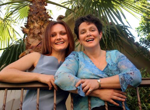 Sherry Fragosa & Dr. Christine Brass-Jones OB/GYN
